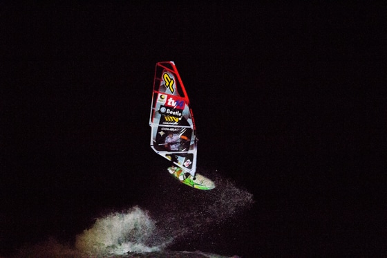 Ricardo Campello_Night Session_Windsurf World Cup 2012