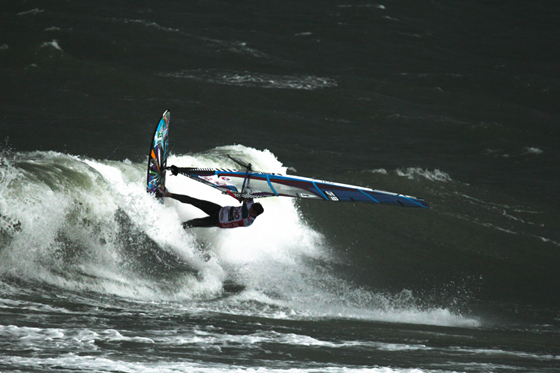 Ross Williams beim Windsurf World Cup Sylt