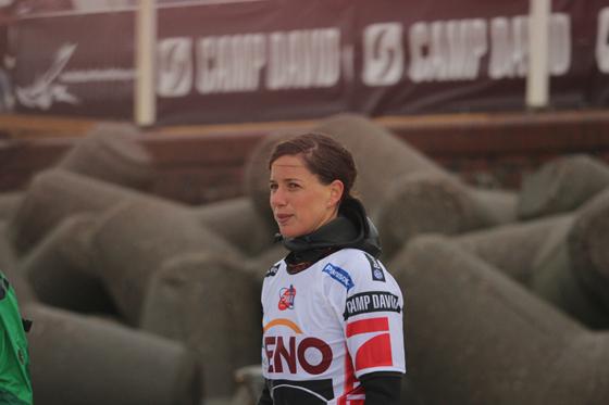 Steffi Wahl beim Windsurf World Cup Sylt