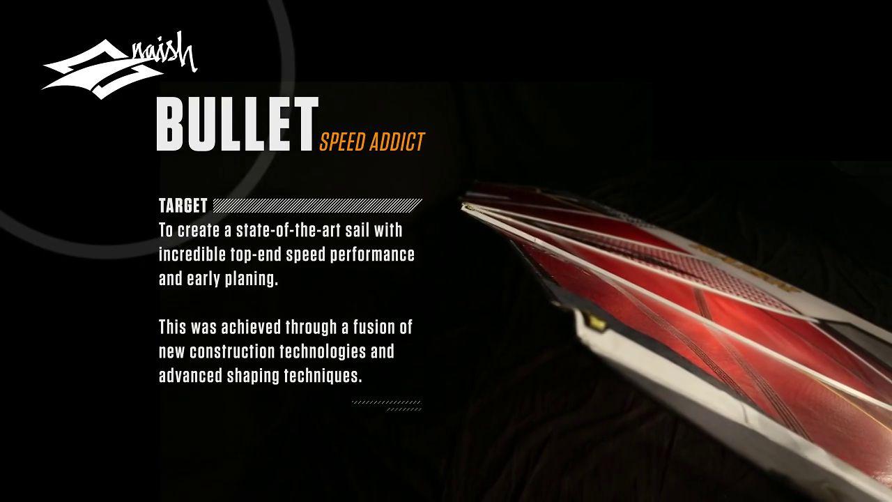 Video thumbnail for vimeo video Naish Bullet 2013 – Freerace Windsurfsegel mit Speedpotential – SUPERFLAVOR SURF MAGAZINE