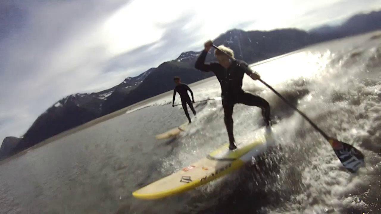 Video thumbnail for vimeo video Naish Stand Up Paddling mit Kai Lenny & Kevin Langeree – ALASKA REVEALED – SUPERFLAVOR SURF MAGAZINE