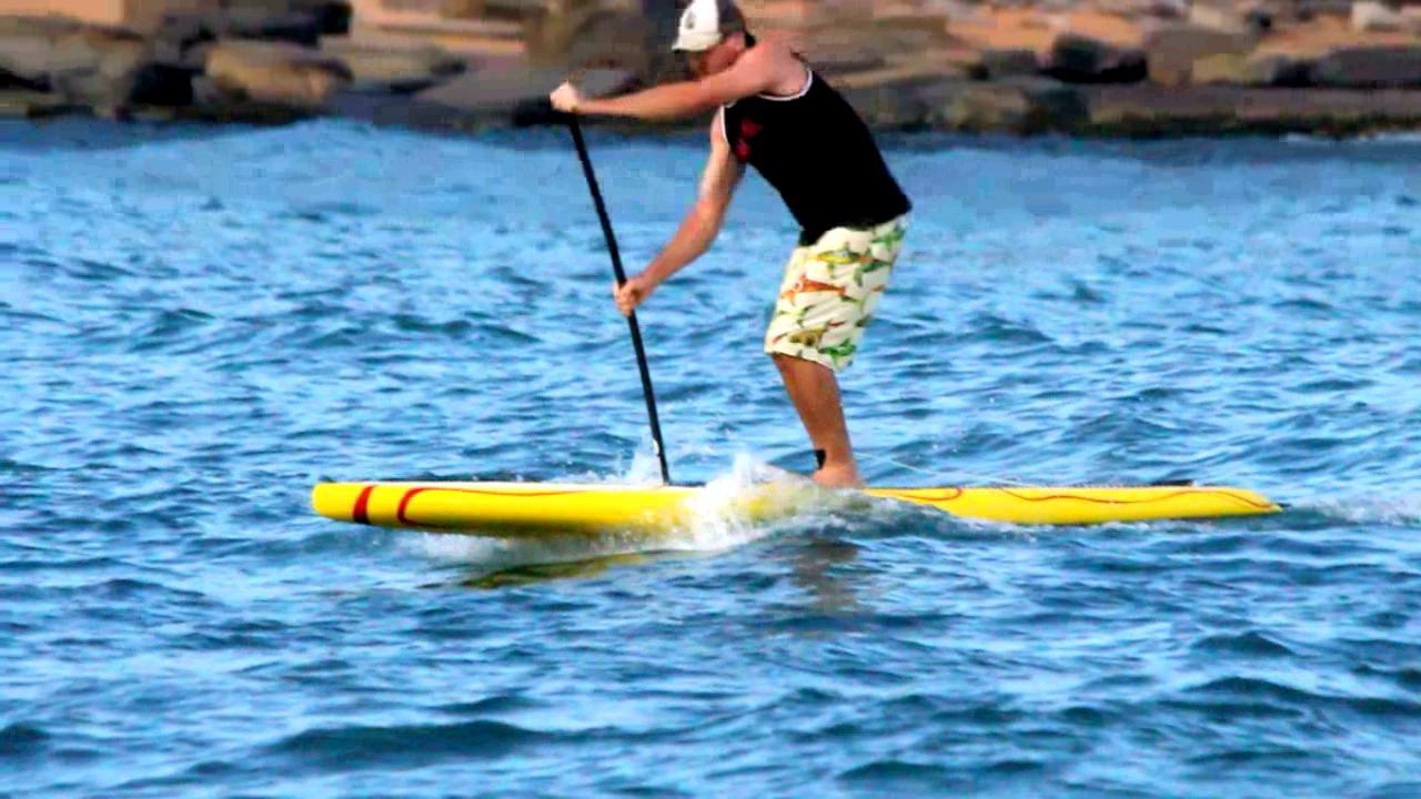 Video thumbnail for vimeo video Slow Motion SUP Video – SUPERFLAVOR SURF MAGAZINE