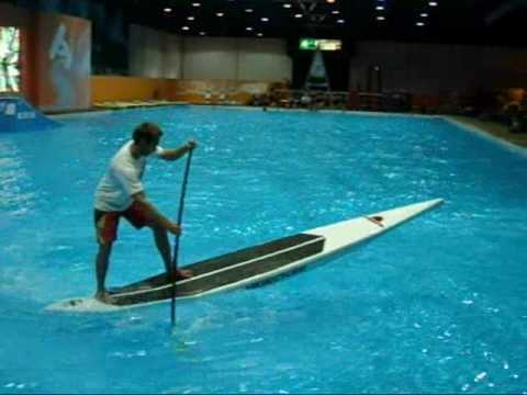 Video thumbnail for youtube video Stand Up Paddling Indoor Action – SUPERFLAVOR SURF MAGAZINE