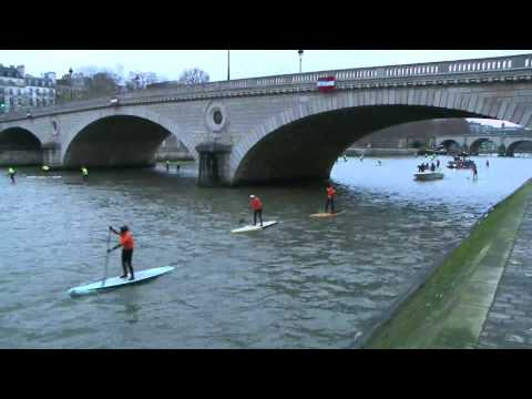 Video thumbnail for youtube video 200 Paddler beim Nautic SUP Crossing Paris 2012 – SUPERFLAVOR SURF MAGAZINE