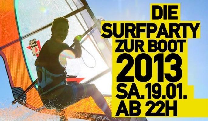 boot düsseldorf surf party nachtresidenz 2013