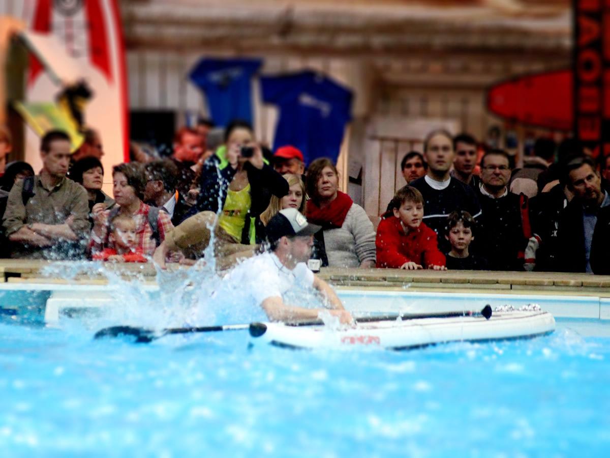 german indoor sup championship boot duessseldorf guido meyer