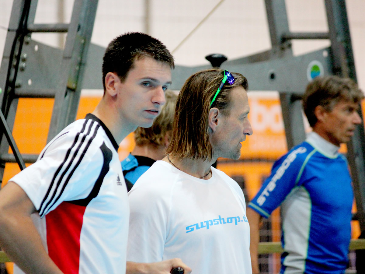german indoor sup championship boot duessseldorf normen weber