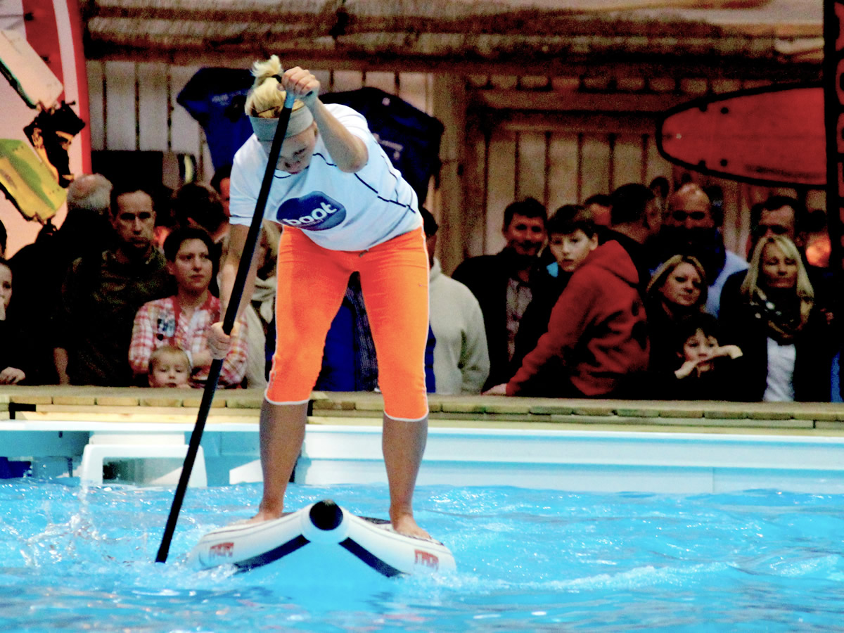 german indoor sup championship boot duessseldorf petra offermanns