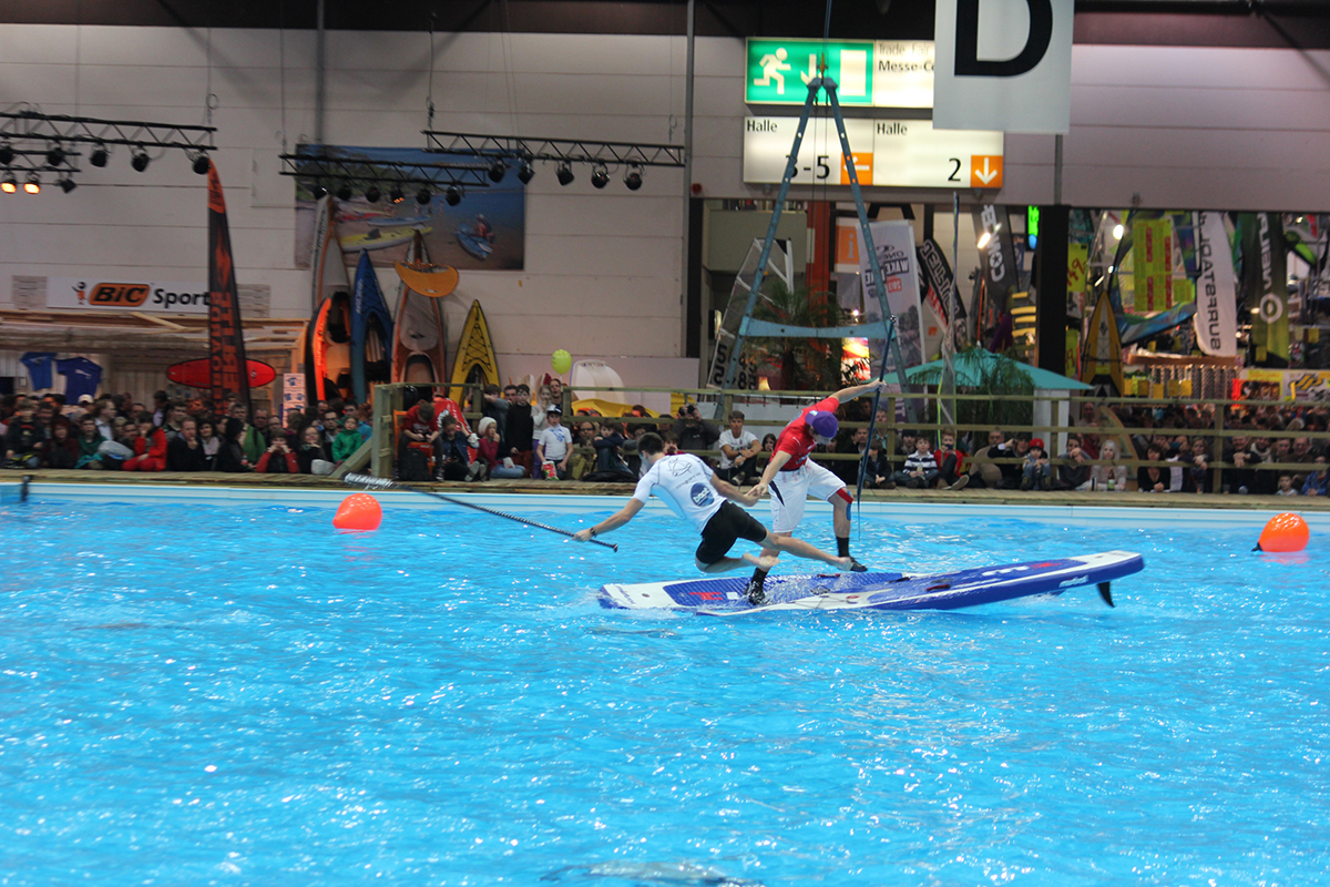 german indoor sup finale boot duesseldorf