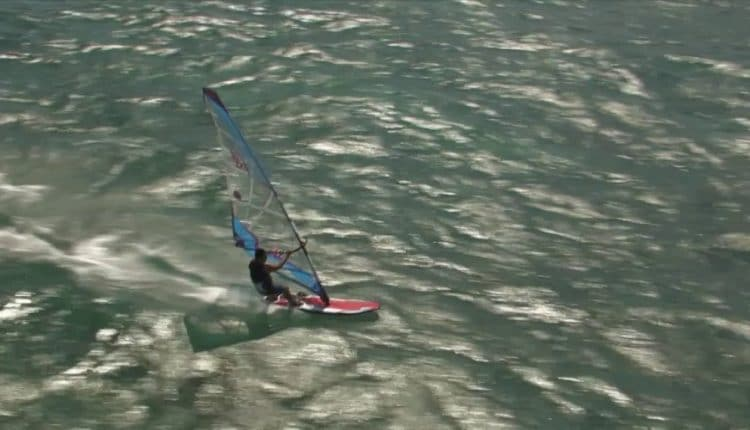 kurosh kiani windsurf