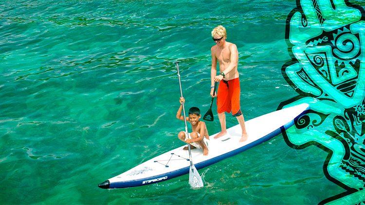 Starboard ASTRO Inflatable SUP Serie – Der Griff nach den Sternen