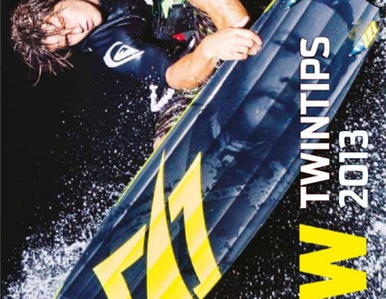 Neue Kitesurf Twintip Collection von Naish