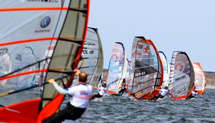 RolleiSummerOpening- windsurf slalom weltmeisterschaft
