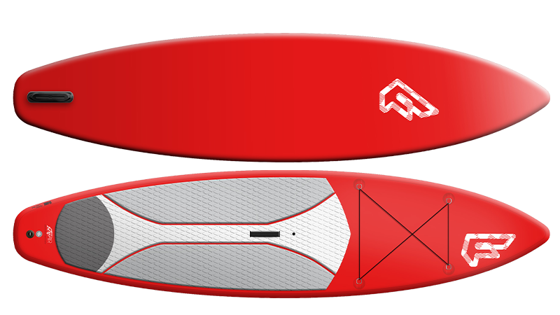fanatic fly air touring inflatable sup board details