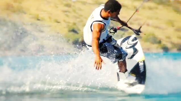 island time kitesurf video
