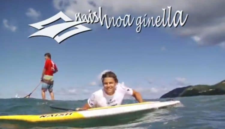 naish sup video noa ginella