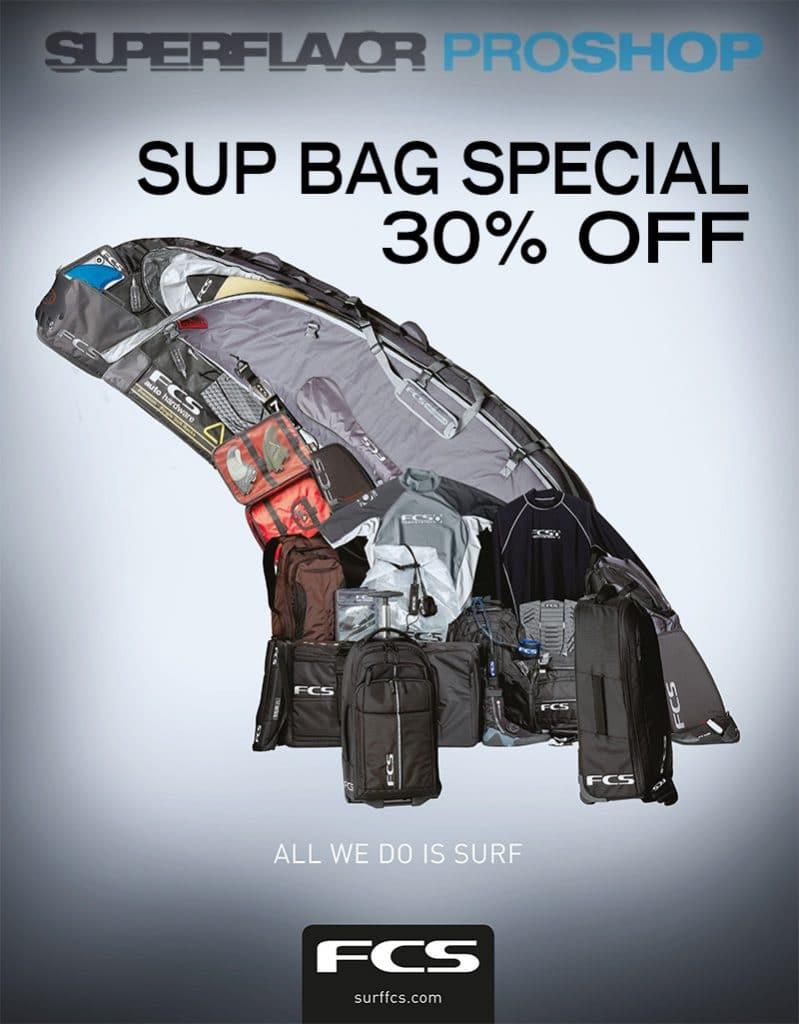 superflavor proshop fcs sup boardbag