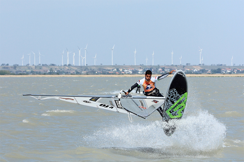 windsurf action surf worldcup podersdorf