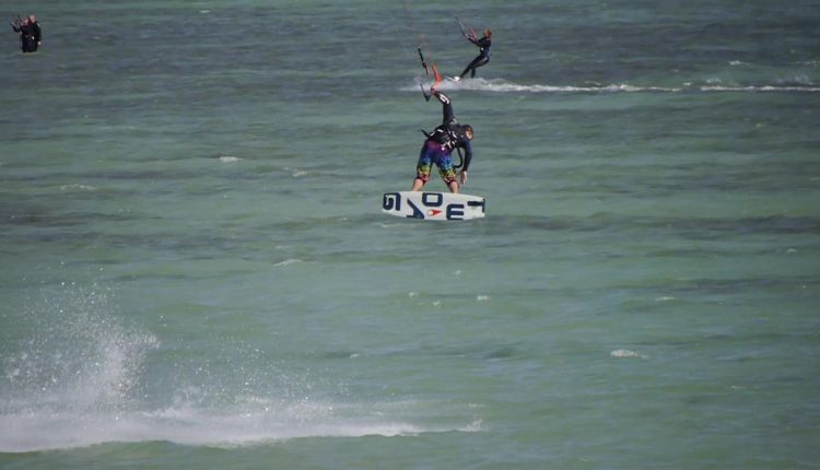 two.ag kiteboard video
