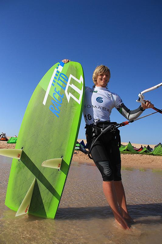Jannis Maus Kite Surfer