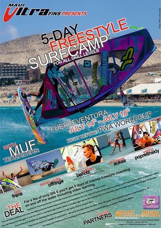Windsurf Freestyle-Camp