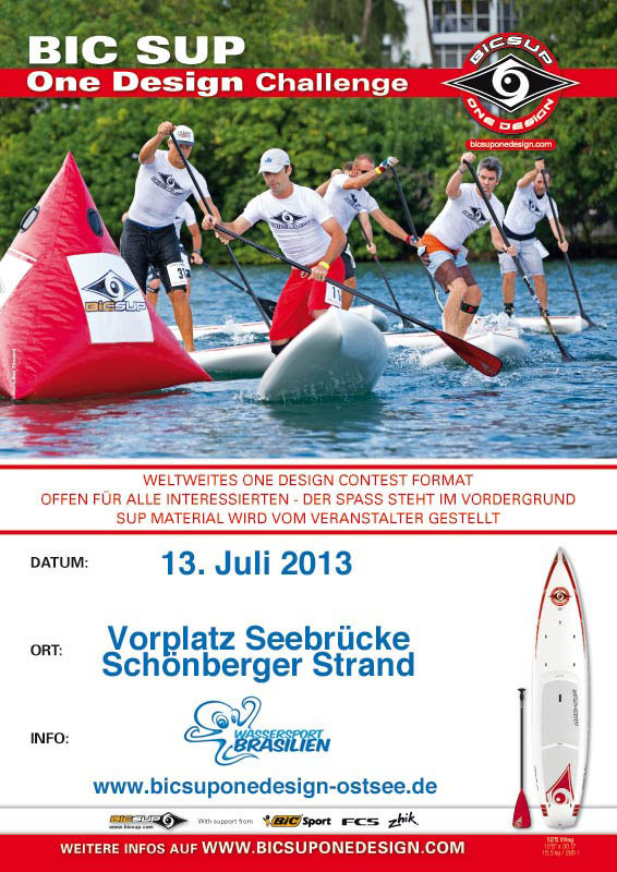 bic sup onedesign schoenberger strand