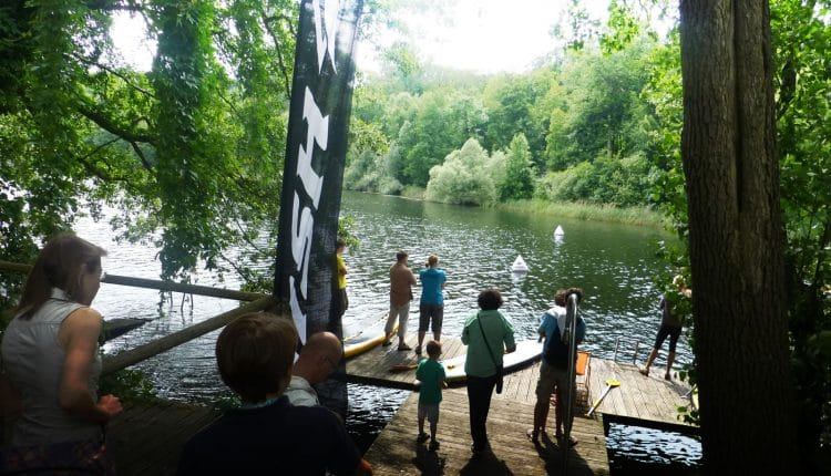 Naish ONE SUP Race Berlin rockt die Hauptstadt