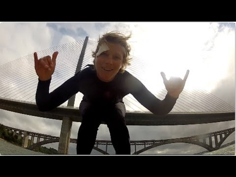 Video thumbnail for youtube video Sarah Hebert – SUP Hitchhiking Downwinder – SUPERFLAVOR SURF MAGAZINE