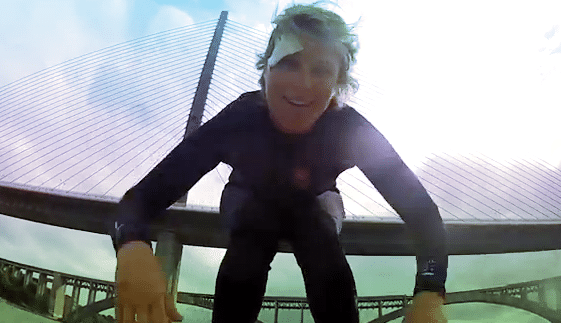 Sarah Hebert – SUP Hitchhiking Downwinder