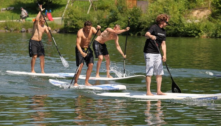 DSV sup training starboard small