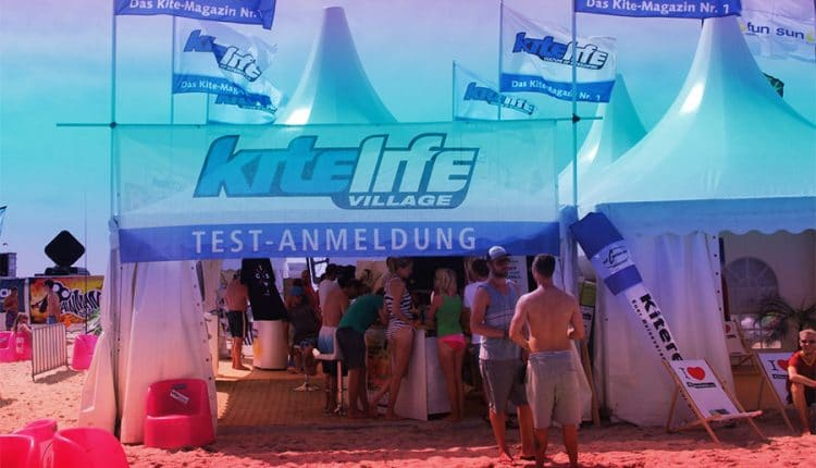 kitelife village kitesurf world cup spo