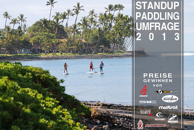 Stand Up Paddling 2013 – Umfrage