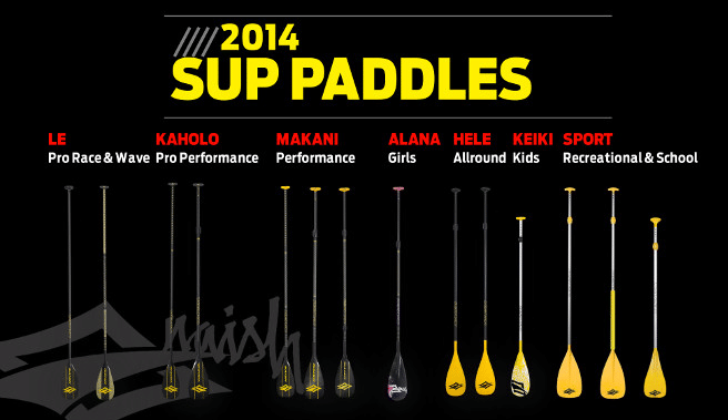 naish sup paddle 2014 overview