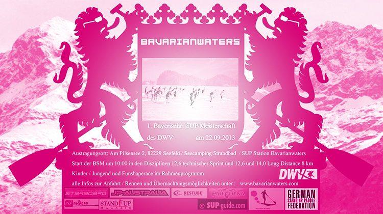1. Bayerische SUP Meisterschaft des DWV