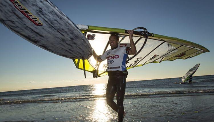 Slalomfahrer begeistern beim GP Joule Windsurf World Cup Sylt