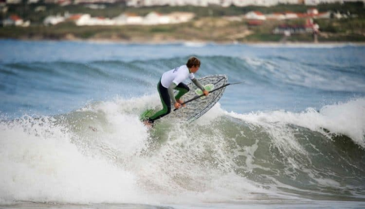 Moritz Mauch gewinnt 2. SUP DM Wave 2013 presented by NORDEN Surfboards