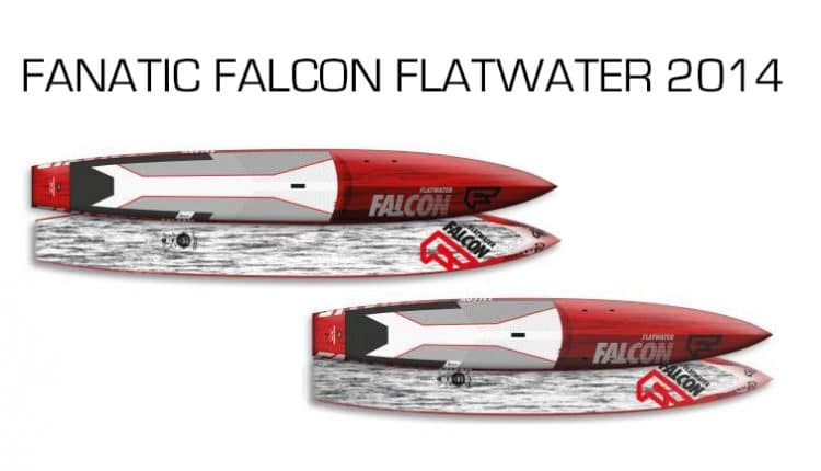 Neuer SUP Fanatic Falcon Flatwater 2014