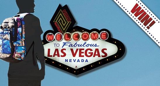 Mit Nitro Bags als Model nach Las Vegas
