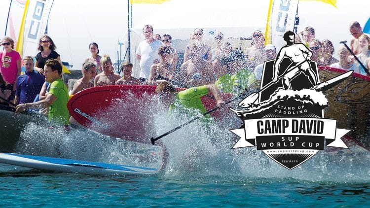 Camp David SUP World CUP 2014 auf Fehmarn