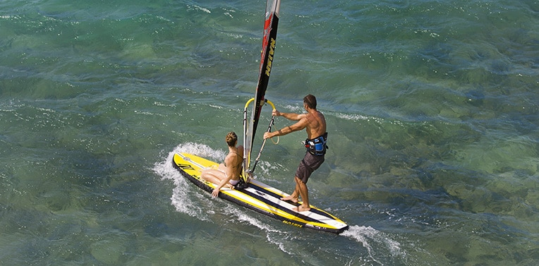 naish crossover air windsurf sup board
