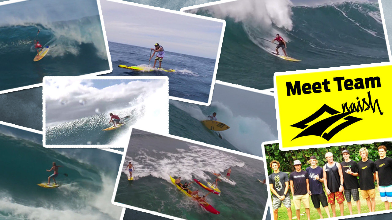 Video thumbnail for vimeo video Naish SUP Team Video – SUPERFLAVOR SURF MAGAZINE – WIND WAVE SUP