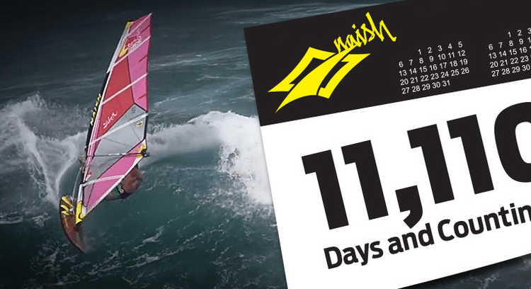 Robby Naish in Bestform – 11,110 DAYS AND COUNTING Video