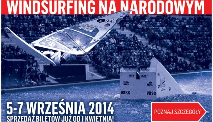 Indoor Windsurf World Cup in Warschau