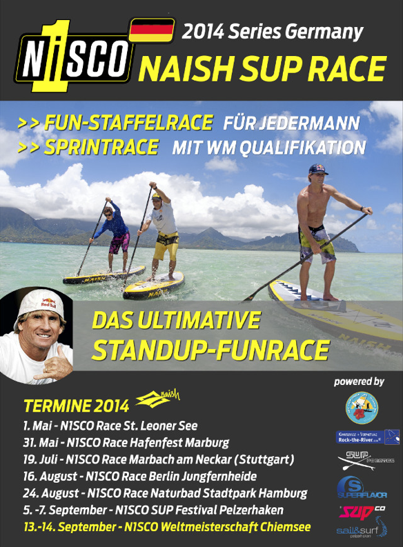 naish one sup race series 2014