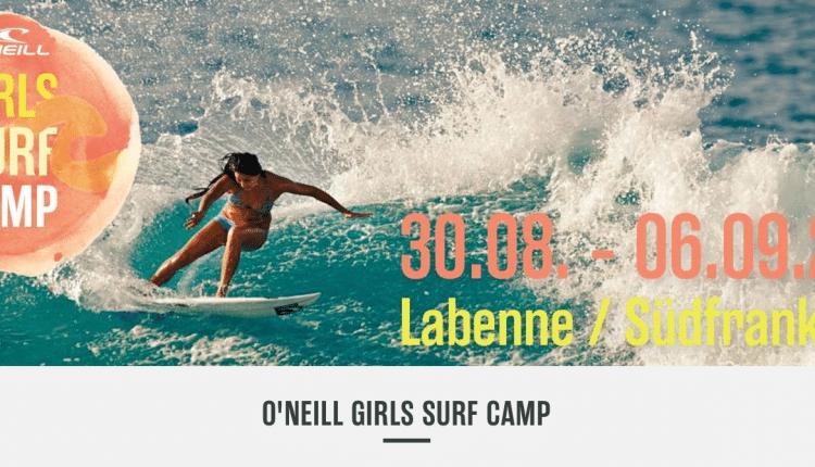 O'Neill Girls Surf Camp 2014