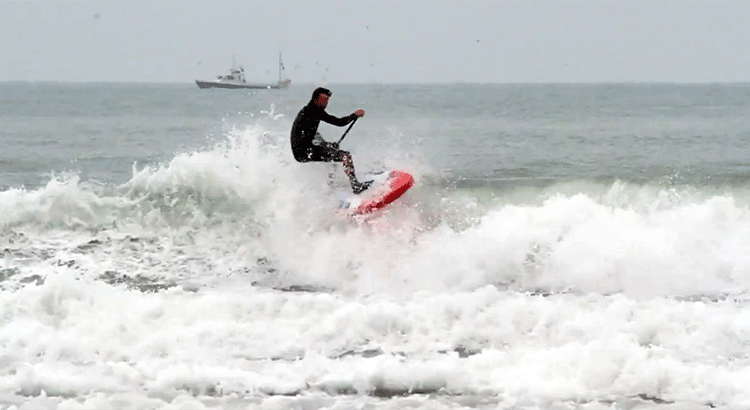 Inflatable SUP Wave Action – Video