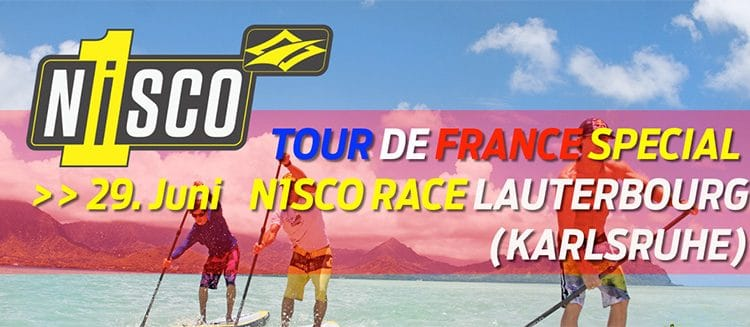 Tour de France Special – Naish SUP Event in Lauterbourg