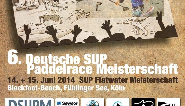6. Deutsche  SUP Meisterschaft Flatwater 2014 in den Startlöchern