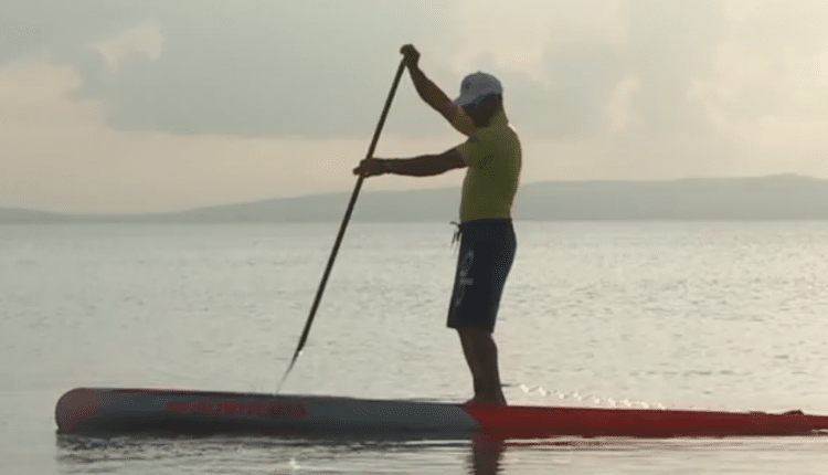 Stand Up Paddle Racing Tips und Tricks – SUP Video