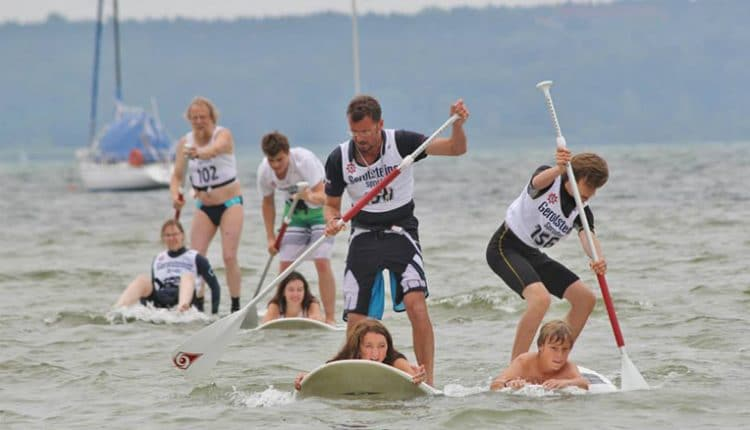 Rookie SUP Race 2014 am Wassersportcenter Starnberger See